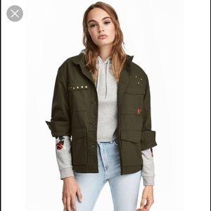 Jackets & Blazers - H&M CARGO JACKET
